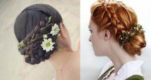 Haarschmuck Braut Blume