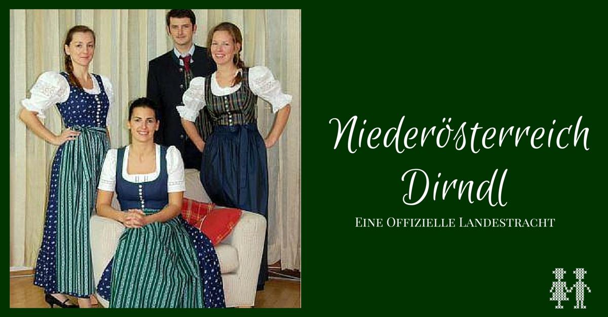 ee42313b892703 Alles über das Niederösterreich Dirndl - Trachtenbibel