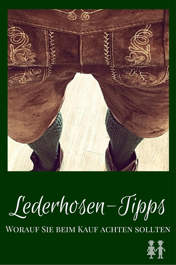 Lederhose kaufen Tipps