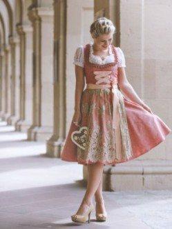 Kleiderkunst Dirndl Rosemarie