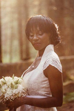 Die internationale Braut im Dirndl
