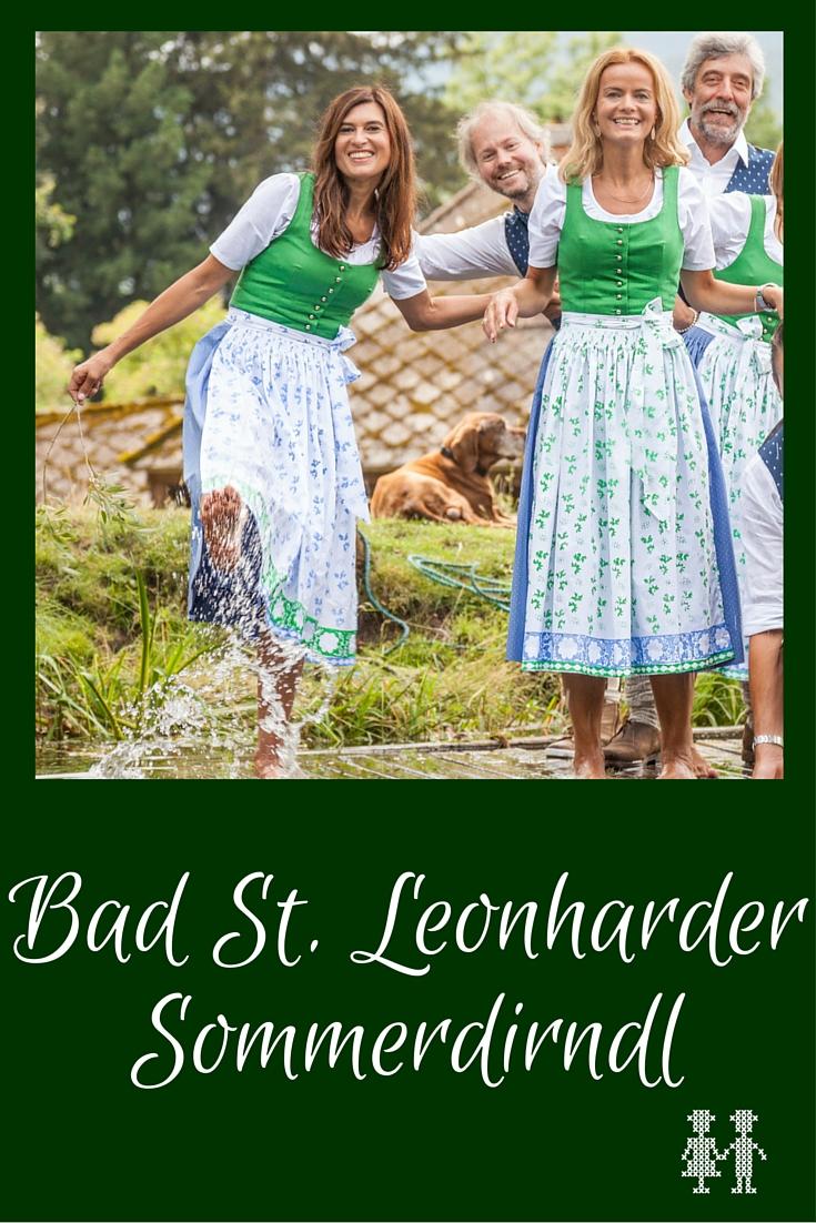 Das neue Bad St. Leonharder Sommerdirndl Die neue Bad St. Leonharder Alltagstracht ist eine Hommage an zwei geschichtsträchtige Jubiläen.