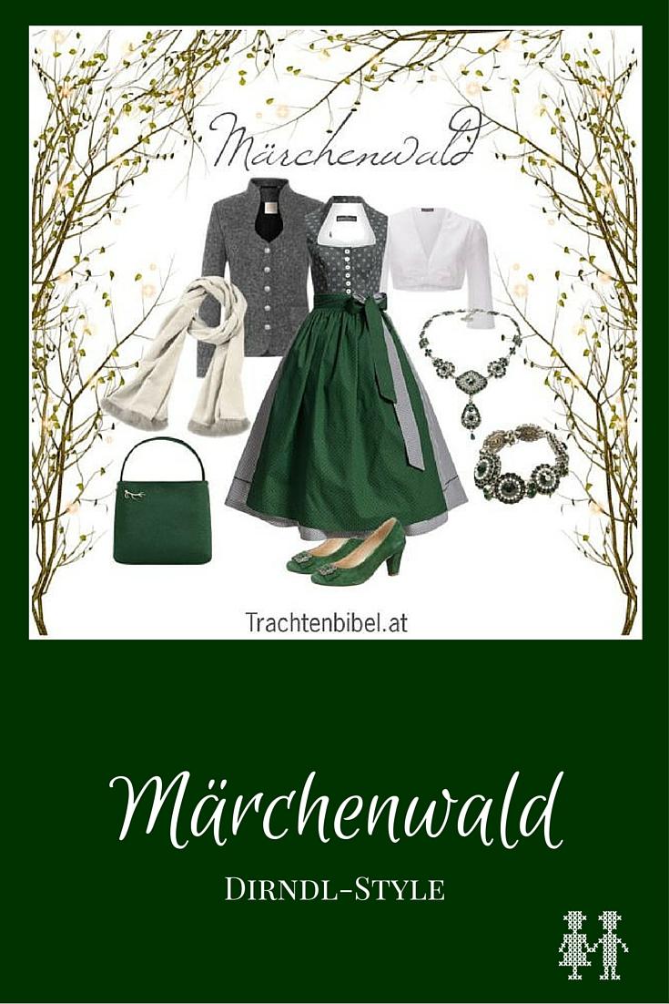 Dirndl-Style Märchenwald zum Nachshoppen