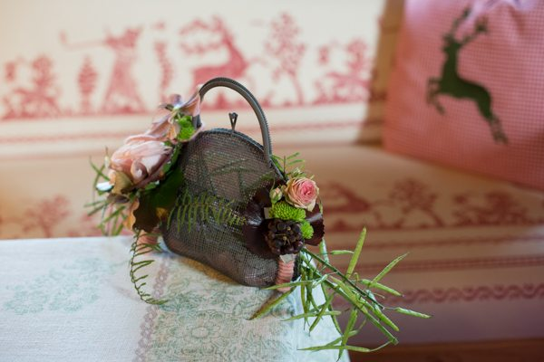 Dirndlhochzeit Blumentasche