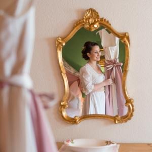 Dirndlhochzeit im Salzkammergut Braut