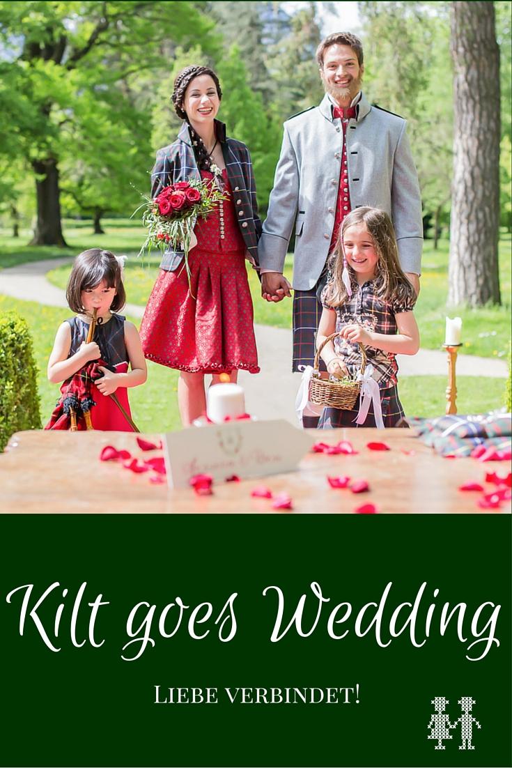 An den Bildern sieht man, dass der Kilt für Hochzeiten absolut tauglich ist und auch sehr edel aussieht.
