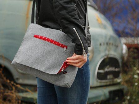 Mondschein Design Tasche Messenger Laptop