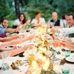 Leben, Liebe und eine Trachtenhochzeit - Wedding Style Shooting von peachesandmint