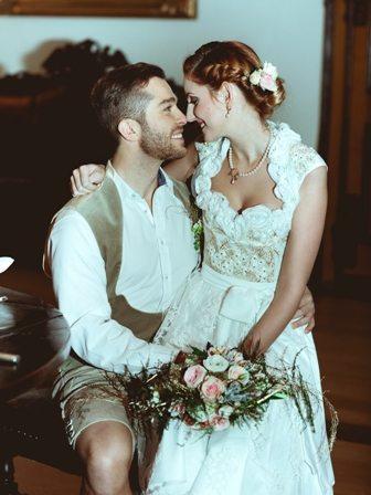 Prinzessin für einen Tag Brautpaar