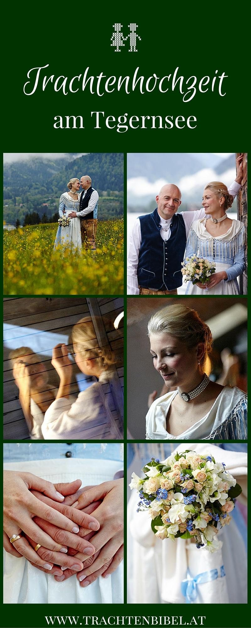 Bei dieser Trachtenhochzeit am Tegernsee kam ein 30 Jahre altes Brautdirndl zu neuen Ehren. Sehen Sie hier die wundervollen Bilder.