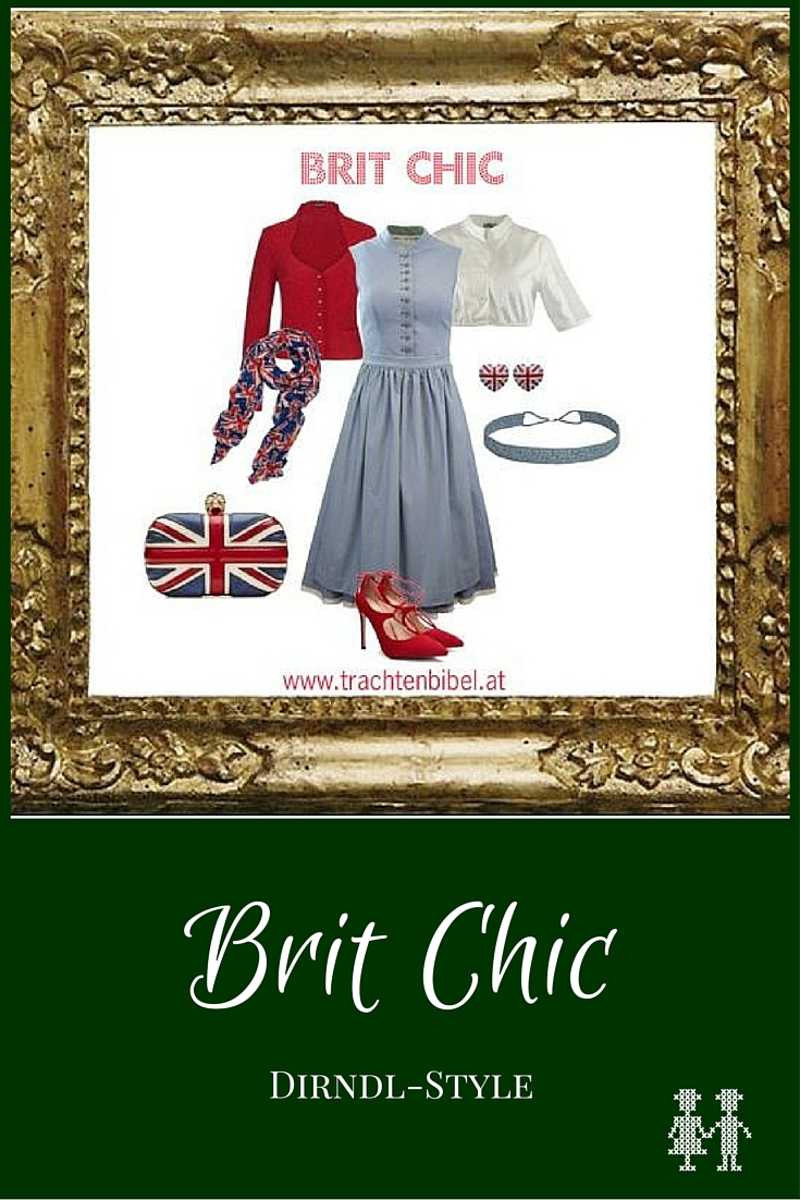 Dirndl meets Britain! Kontroversiell but WOW!