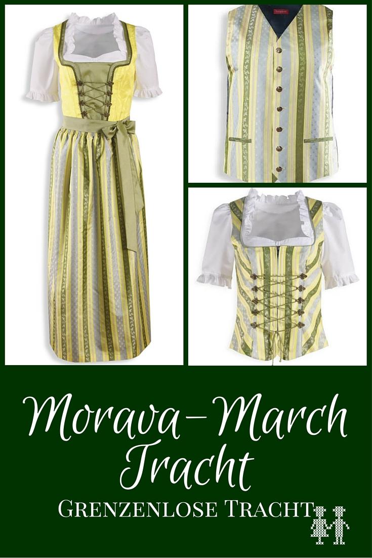 2 Länder, 2 Kulturen - eine Tracht. Die Morava-March Tracht verbindet grenzüberschreitend die Menschen und hat viel Symbolik.