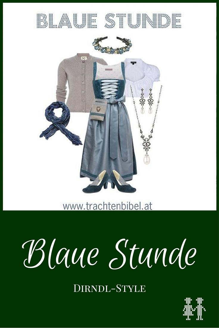 Dirndl-Style Blaue Stunde zum Nachshoppen
