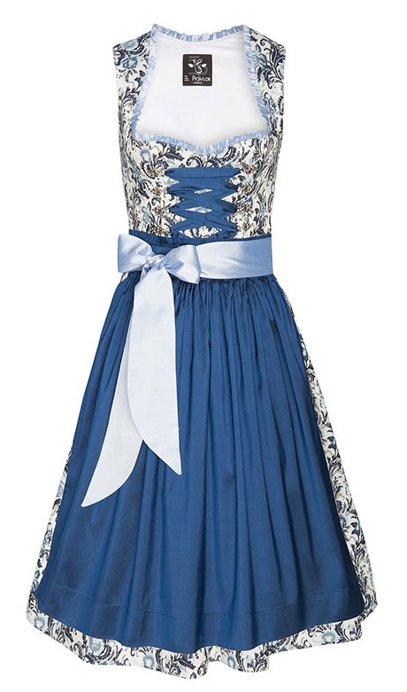 "Dirndl ""Blue Light"" von El Picaflor"