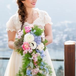 Boho auf Bayrisch Brautdirndl