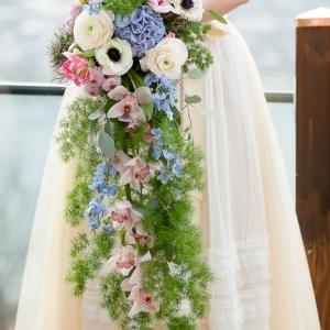 Boho auf Bayrisch Brautstrauß
