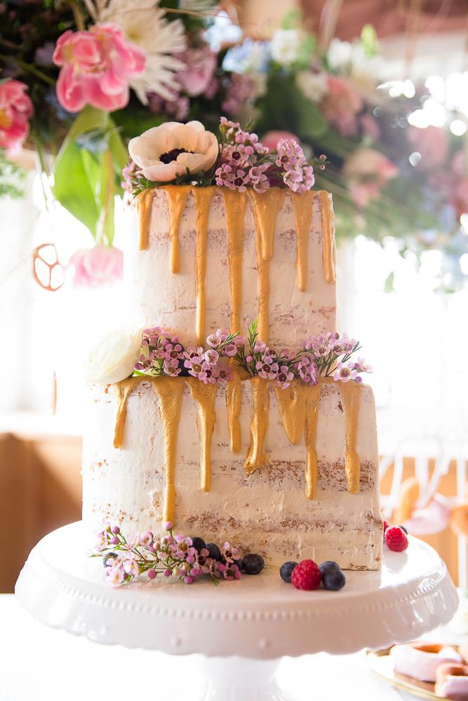 Boho auf Bayrisch Hochzeitstorte