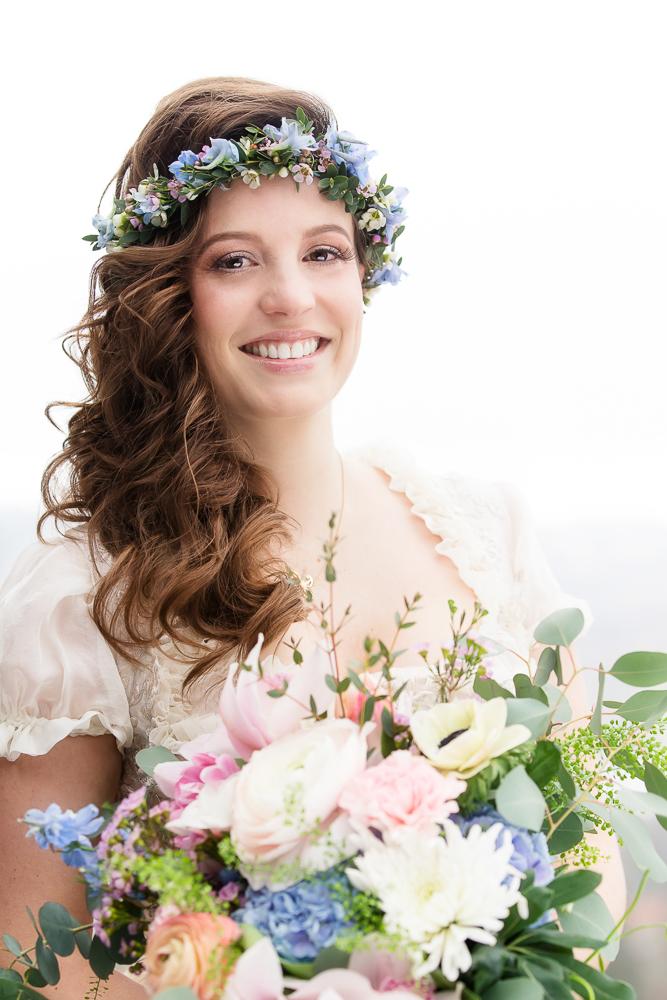 Boho auf Bayrisch Braut