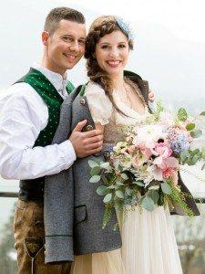 Bavarian Boho Brautpaar 1