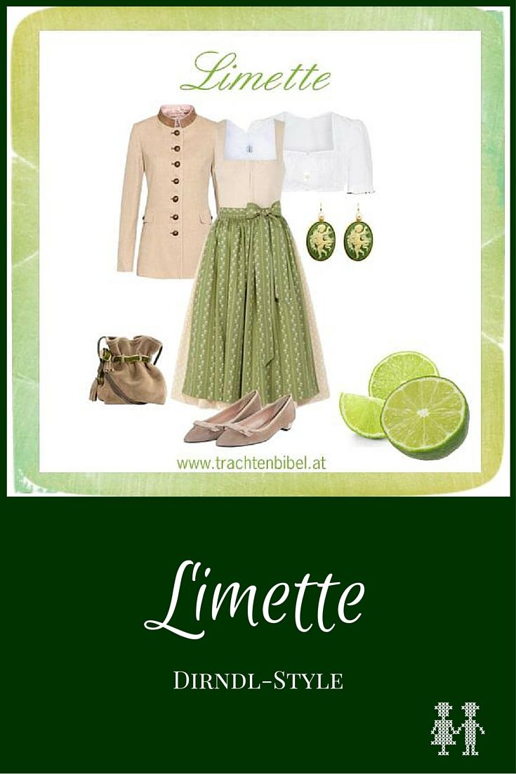 Limette Dirndl-Style zum Nachshoppen