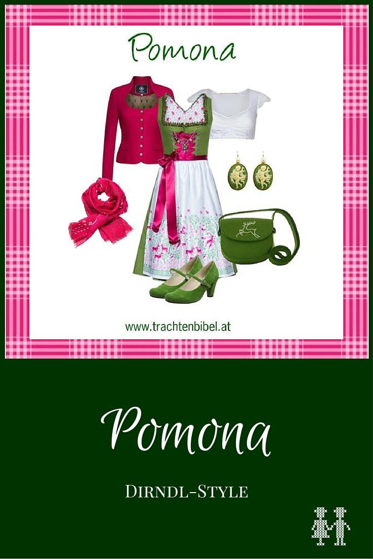 Frisch & farbstark: Dirndl-Style Pomona zum Nachshoppen #styling #dirndl #tracht