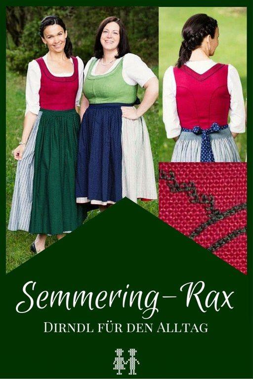 Das Semmering-Rax Dirndl ist ein wunderschönes Alltagsdirndl aus der Weltkulturerberegion Semmeringbahn.