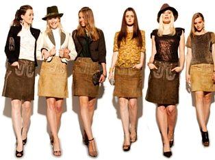 Trachtenamazonen Lederrock Couture Line (2)