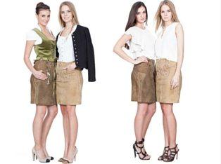 Trachtenamazonen Lederrock Couture Line (3)