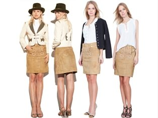 Trachtenamazonen Lederrock Couture Line