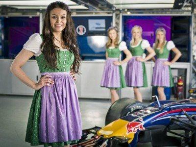 Dirndl Formel 1 2016