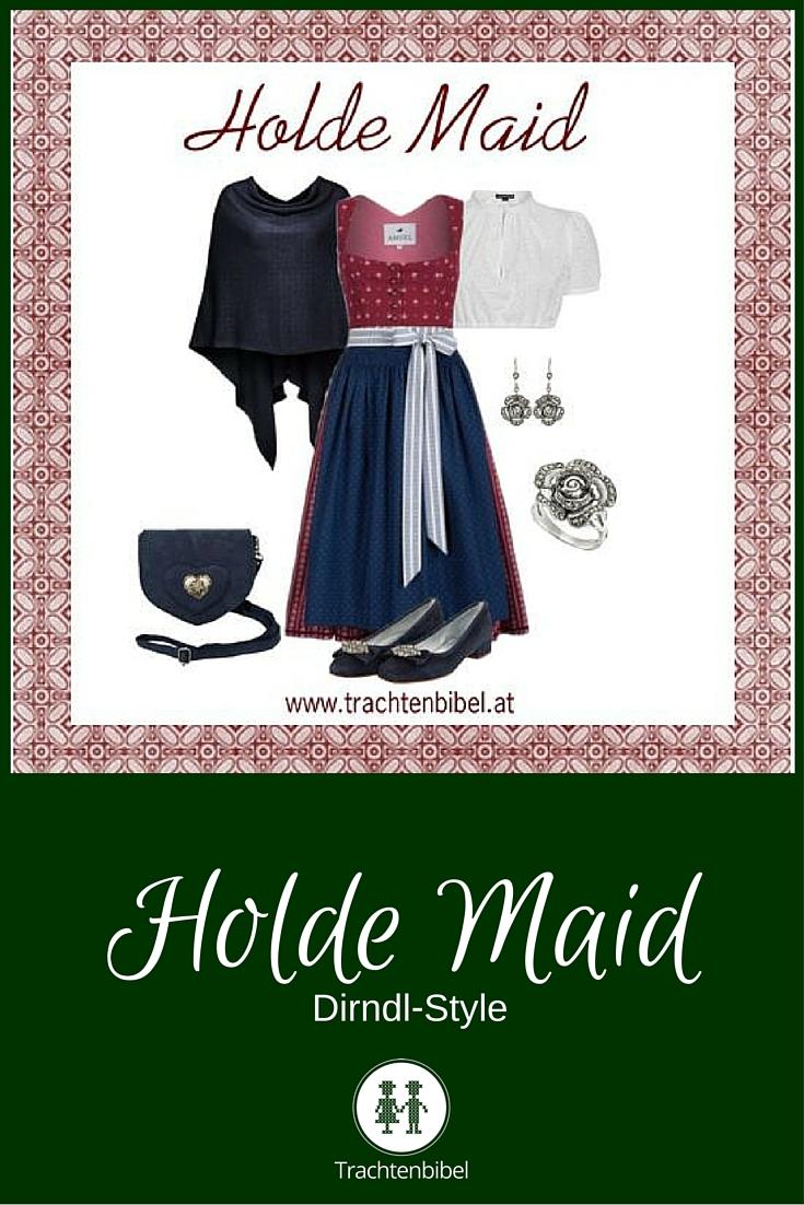 Klassische Farben: Holde Maid Dirndl-Style zum Nachshoppen.