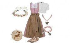 Dirndl-Style Rosa Charme