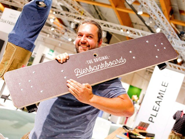Das innovative Bierbankboard