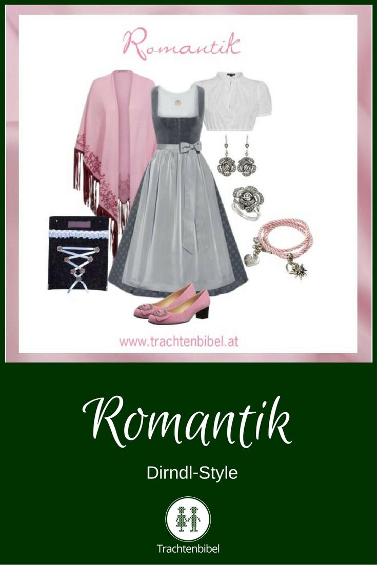 Dirndl-Style Romantik zum Nachshoppen: Elegant und zart in Rosa und Grau