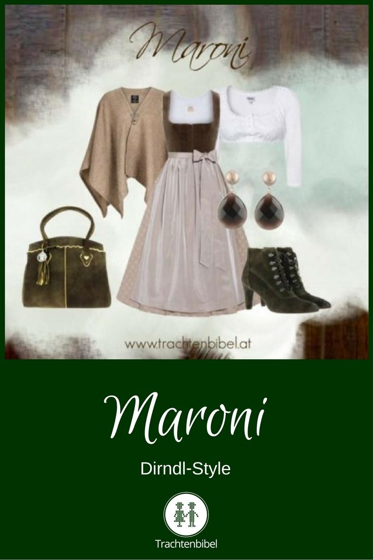 Dirndl-Style Maroni zum Nachshoppen: Ein Traum in Braun und Beige