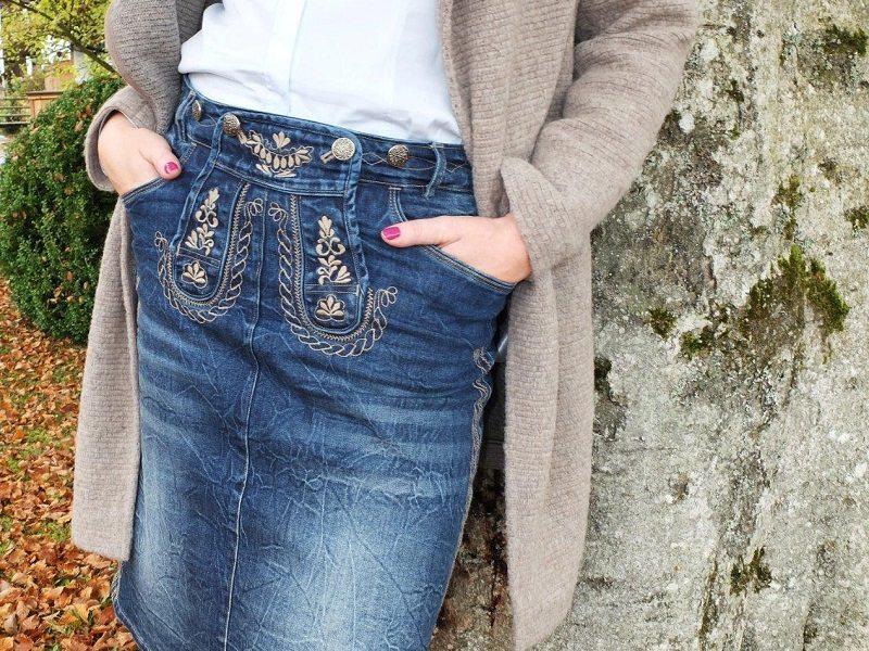 trachtiger-jeansrock