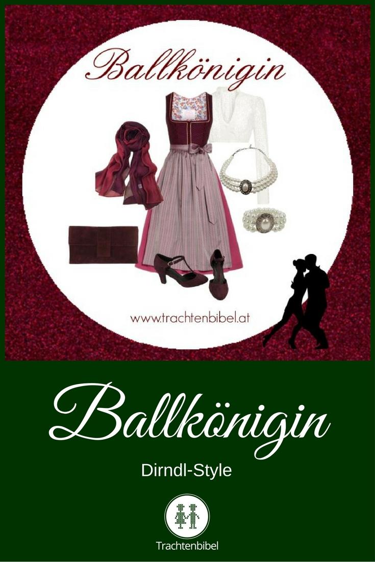 DIrndl-Style Ballkönigin zum Nachshoppen: Sei die Queen auf jedem Trachtenball mit diesem Outfit