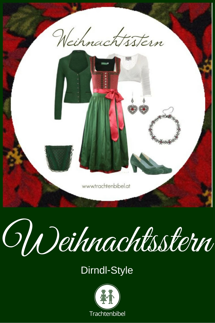 Ein Style in Rot und Grün passend zum Weihnachtsstern!
