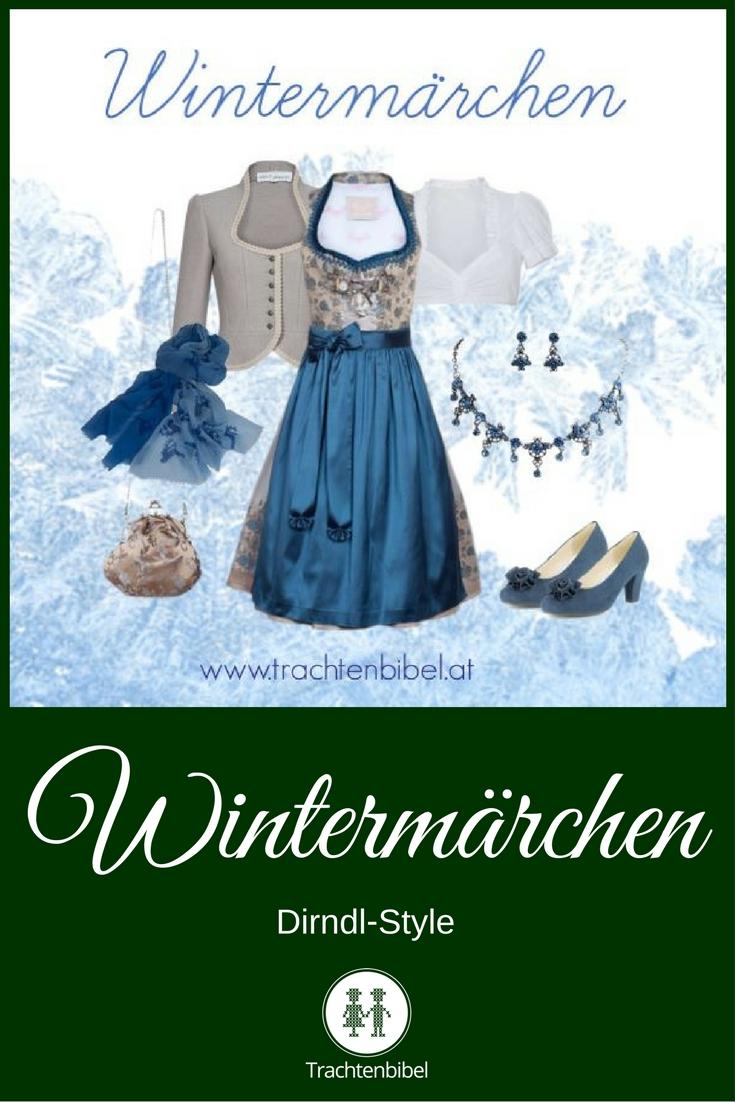 Winterliches Styling in Taupe und Blau zum Nachshoppen.