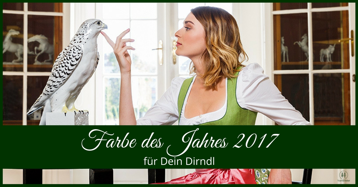 dirndl in der farbe des jahres 2017 trachtenbibel. Black Bedroom Furniture Sets. Home Design Ideas