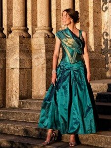 Kleid von Michaela Keune