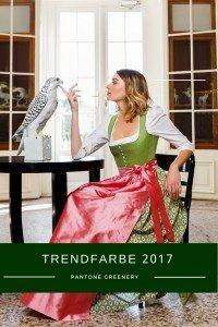 Dirndl in der Trendfarbe 2017