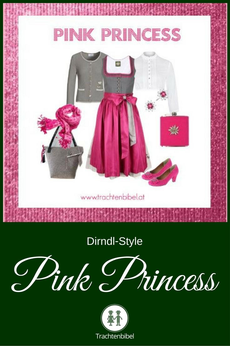 Ein Dirndl-Style in einer tollen Farbkombi für starke Prinzessinnen!