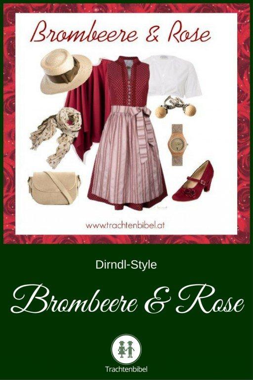 Dirndl-Style Brombeere & Rose zum Nachshoppen