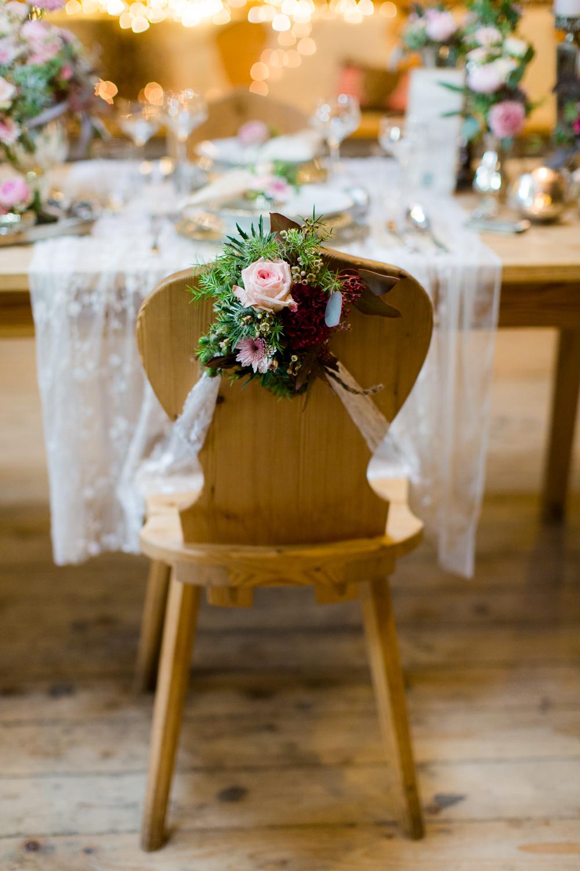 Trachtenhochzeit Rustikale Eleganz Tischdeko