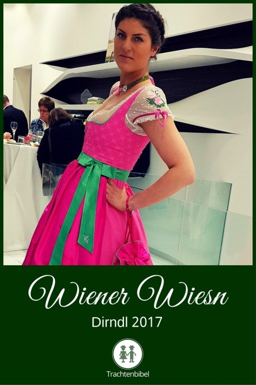 Wiener Wiesn Dirndl 2017 ganz in Pink!