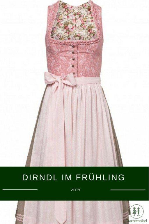 Dirndl Anna von Julia Trentini für den Frühling 2017