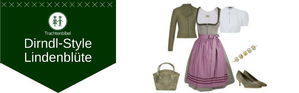 Dirndl-Outfit Lindenblüte
