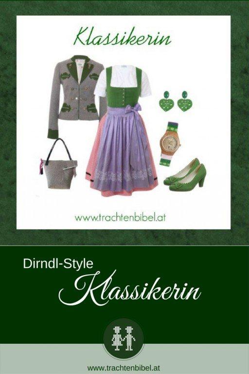 Ein klassisches Ausseer Dirndl ist die Basis für den Dirndl-Style Klassikerin. Ein traditionelles Outfit modern interpretiert