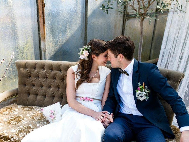 Styled Shooting Tian Van Tastique Brautpaar